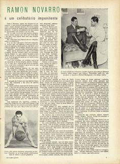 Ramon Novarro - Revista Animatografo 1933