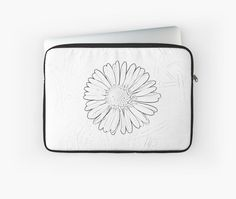Daisy Daisy laptop pouch by Karen Cross of KCiPhoto