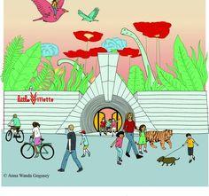 La little Villette, l'espace de jeux réservé aux enfants