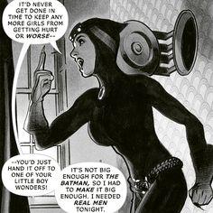 adam hughes catwoman panel