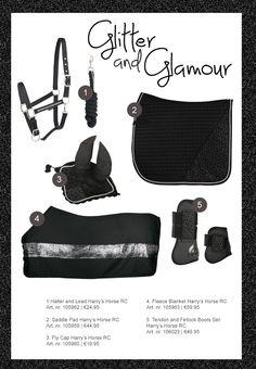 """* Browband COB Taille-black 15 /""""Bling browbands 6 rangées cristal New designer"""
