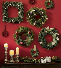 Collection of Christmas Wreaths