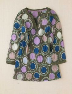 Boden Crinkle Cotton Top