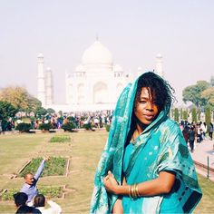 Fearless. @froonthego // Agra India. #travelnoire #agra