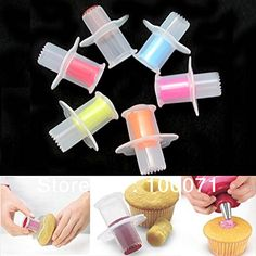 3pcs Kitchen Cupcake Cake Tool Corer Plunger Cutter Pastry Decorating Divider Filler Model -- Want to know more, click on the image.