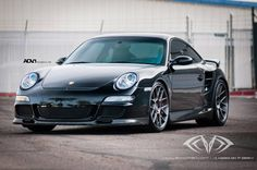 Take a look at the Improved Aerodynamics for Black Porsche 911 with Aftermarket Parts photos and go back to customizing your vehicle with renewed passion. Porsche 911, Porsche 997 Turbo, Black Porsche, Turbo S, Twin Turbo, Cool Sports Cars, Cool Cars, Carrera, Bugatti Cars