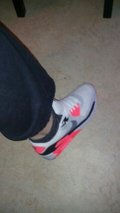 My new shoes nikr air max premium 90 love this