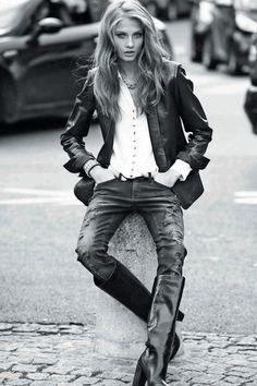 Rocker Fashion | Click to enlarge image Mango-Autunno-Inverno-2012-2013-Grunge-Rock-07 ...