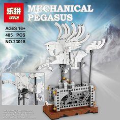 57.00$  Know more  - NEW Lepin 23015 485Pcs Technic Series The Pegasus Automaton Mechanical Flying Horse Set Educational Building Blocks Bricks Toys