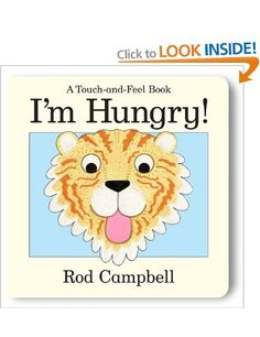 I'm Hungry: Amazon.co.uk: Rod Campbell: Books Touch And Feel Book, Dear Zoo, Pan Macmillan, Children's Picture Books, Little Monkeys, Childrens Books, The Creator, Feelings, Fun