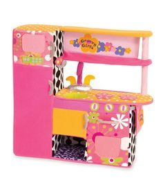 Take a look at this Groovylicious Delicious Groovy Girl Kitchen by Manhattan Toy on #zulily today!