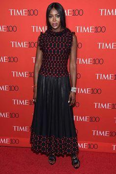 Naomi Campbell, TIME100 Gala, 2017