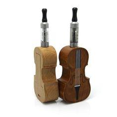 E-violin-Cigarette.. Kewl...#vape #vapoter #vapoteur #ecigs #ecig #ecigarette