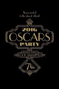 Start the drama with a great invitation. | How To Host The Ultimate Oscars® Party