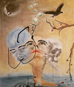My beginning by Ivaylo Mitev - surreal approach showing birth, maturity and death Surrealism, Drawings, Maturity, Loneliness, Painting, Birth, Space, Pictures, Floor Space