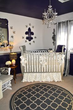 Royal Nursery Decor