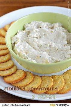 Dips, Modern Food, Appetizers For Party, Bon Appetit, Pesto, Macaroni And Cheese, Good Food, Food And Drink, Vegetarian