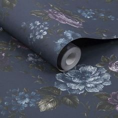 Muse French Navy Wallpaper | Graham & Brown UK