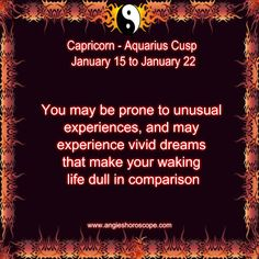 True enough to write dreams out and decipher true meanings -B Capricorn Sun Sign, Capricorn Aquarius Cusp, Capricorn Traits, Aquarius Woman, Zodiac Signs Aquarius, Capricorn And Aquarius, Zodiac Traits, Aquarius Funny, Capricorn