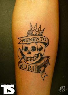 Tattoo Snob | Memento mori