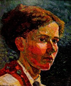 'Self Portrait', c. 1918. Grace Cossington-Smith