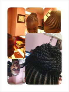 Crochet Braids Jacksonville Nc : ... Kinky hair on Pinterest Kinky hair, Kinky twists and Crochet braids