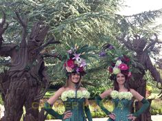 GARDEN CANAPE COLLECTION - The Bourbon Roses - created for quintessentially English country garden themed events and weddings.  Stunning, versatile and bespoke.  Perfect for greeting guests with a glass of champagne or delivering canapes in style.  http://www.calmerkarma.org.uk/garden-themed-entertainment.html Tel:  0203 602 9540 Available to hire internationally & throughout the UK.