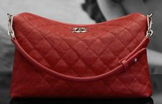 I want this red Channel bag