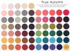 Barwy urody: Typy jesieni - ciepła jesień