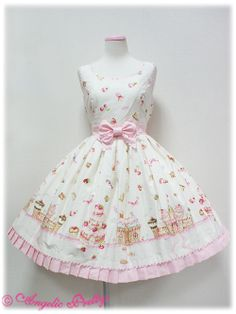 Angelic Pretty -  Country of Sweets JSK