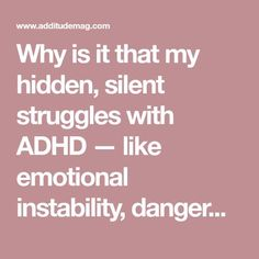 Never Caught Up, Never Balanced, Never Believed: My hidden, silent struggles with ADHD brain