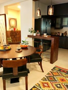 Indian Home Decor Kitchen Eclectic Decor Kitchen Room Design, Home Room Design, Home Decor Kitchen, Kitchen Interior, Design Homes, Diy Design, Design Projects, Indian Home Design, Indian Interior Design