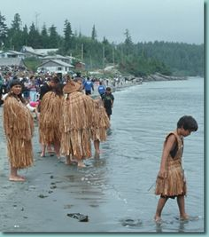 Pacific Northwest Clothing - cedar bark