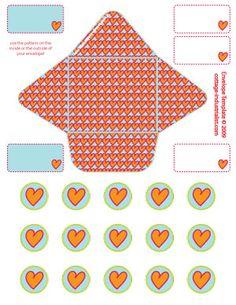 Teeny Envelope PrintableTemplate - BLOG :: Cottage Industrialist - Various and Sundry Things