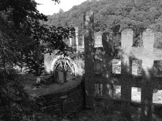 Civil War Wednesday: The Plight of the Mill Workers  New Manchester Mill ruins, photo courtesy of author