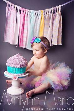 First Birthday, Cake Smash, Baby Cake Smash, Newborn Photography