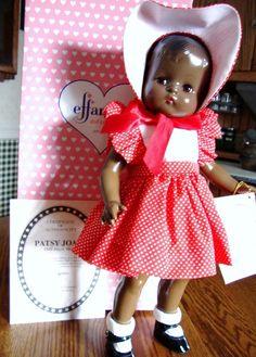 "1994 repro 18"" African-American Patsy Joan doll"