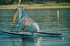 Decavitator - World record fastest human powered watercraft.
