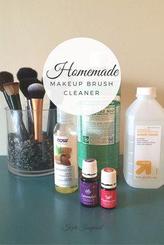 Homemade Non-Toxic Makeup Brush Cleaner   Kate Inspired