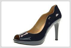 NERO GIARDINI Frau dcollet Patent P717383DE knallte / 208 Größe 36 Blau - Sandalen für frauen (*Partner-Link)