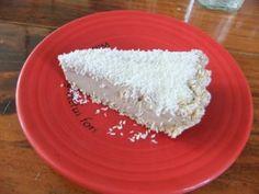 Raw Food Cafe Gratitude Coconut Cream Pie....... serious YUM!