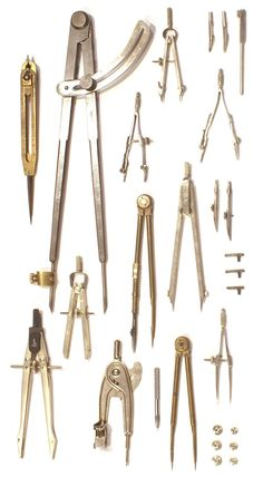 SUBMISSION: Collection of compasses from the office of Atelier & Company