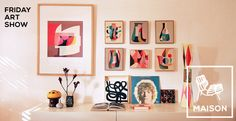 Friday Art Show: Catching up with Inaluxe | IAMTHELAB | The Best of Modern Handmade