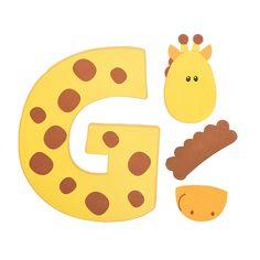 G Is For Giraffes Letter Craft Kit