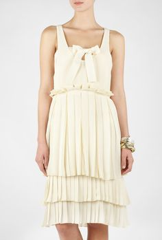 See by Chloe Plisse Bow Dress, $721.05