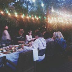 Dinner Under The Stars #dinnerparty #vegan #healthy #cleaneating