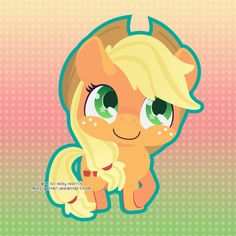 Applejack by =Miss-Glitter on deviantART