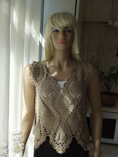 Summer Breeze  Crochet Sweater / Crochet Shrug / by BilgesCreation, $65.00