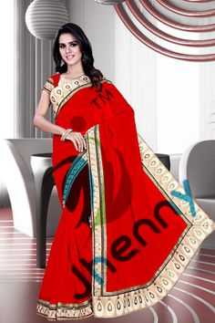Red Sarees @ Rs. 3521
