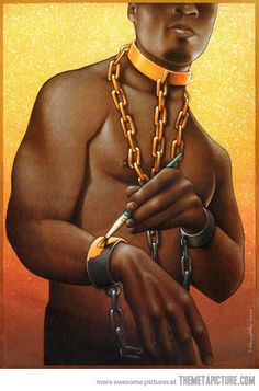 One artist's observation about African-American culture